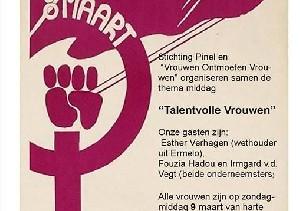 Internationale Vrouwendag in Harderwijk